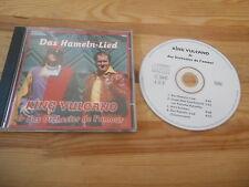 CD Schlager King Vulcano - Das Hameln-Lied (4 Song) MCD DMG / NiWO MUSIC