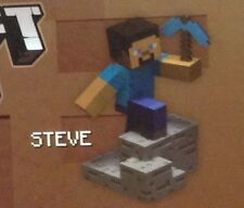 ! Minecraft Craftables Buildable Steve Series 1 Sealed Unopened in Box