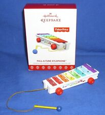 Hallmark Christmas Ornament Like Fisher Price Toy Pull A Tune Xylophone 2017