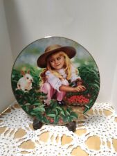 """""""Amanda"""" from the Treasured Days Collection by Higgins Bond Collector Plate"""