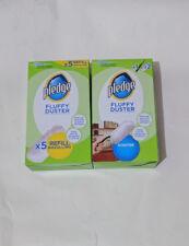 Pledge Fluffy Dusters starter kit + Refill Pack, Dry Dusting Cloth