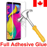 [FULL GLUE] Case Friendly Tempered Glass Screen Protector for Samsung Galaxy S9