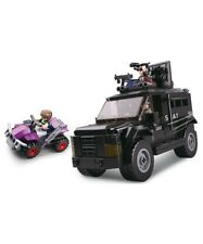 Sluban  Army SWAT Truck Construction brick set Military B0653