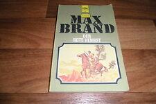 Max Brand -- der ROTE HENGST // Heyne Western Classics 1. Auflage 1978