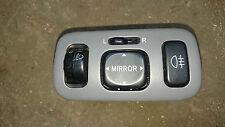 Toyota Yaris 99-05 MK1 XP10 Sr Ala Espejo Control/AJUSTADOR Interruptor De Luz/Niebla