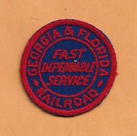"GEORGIA & FLORIDA  RAILROAD PATCH 2 "" **"