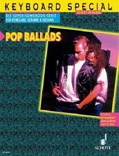 Partition pour voix - Keyboard Special - Pop Ballads