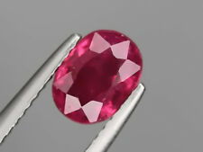 Natural Ruby 1.71ct 8x6mm Loose Gemstone Oval Cut Big Nice
