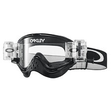 Maschera Oakley O-Frame Mx Race Ready Roll Off Jet Black oo7029-32 Cross Enduro