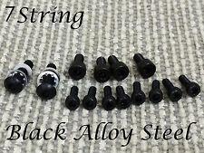 7 String Floyd Rose Black Nut & Saddle & Nut Mounting Hold Screw Fender jackson