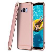 Hybrid Cover Samsung Galaxy S8 Handy Hülle Schutzhülle Case Tasche Bumper Rose