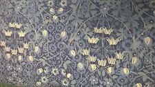 ditsy blue flower pattern fabric 100% cotton lawn by the metre
