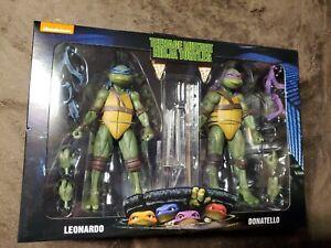 NECA Teenage Mutant Ninja Turtles  leonardo  & donatello  Figures