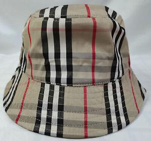 Burberry Bucket Hat Packable Cap Brown
