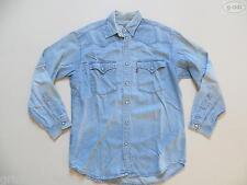 Levi's Jeans Hemd Jeanshemd Gr. M, Vintage ! Western Style, blue Denim, RAR !