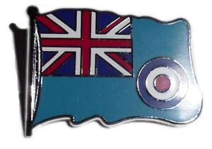 Royal Air Force lapel badge, RAF Ensign enamel pin badge