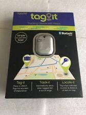 Tzumi Tag-it Bluetooth Tracking Device Luggage Keys Pet Purse Car (Silver)
