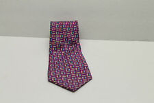 Brooks Brothers Mens Neck Tie - Purple with pattern - Pre-owned