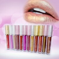 Sexy Metal Metallic lip Gloss Long Lasting Waterproof Moisturizer Lipstick