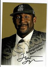 Robert Traylor 1998/99 SkyBox  Autograph Card Milwaukee Bucks