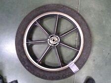Kawasaki KZ650 front wheel & tire