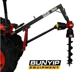 KANGA POST HOLE DIGGER- M RANGE WITH 3 POINT LINKAGE SUITS AUGERS UP TO 610MM