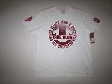 True Religion Men's Circle Stripe Tee Crew Neck T-shirt XXL Short Sleeves SS