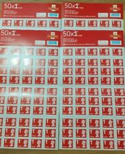 More details for 50 x royal mail 1st class large letter postage stamps. first class. same day des