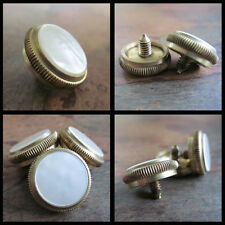 OLDS Finger Buttons ~ Set if Three in Raw Brass ~ GOOD FOR ALL MODELS