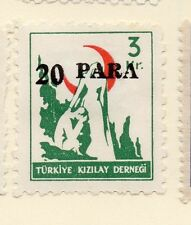Turkey 1950-52 Early Issue Fine Mint Hinged 20p. Surcharged 085936