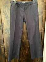 New York & Company Womens Pants Dark Blue Size 2 Petite NWOT