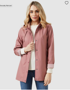 BNWT Dusty Pink French Connection Raincoat