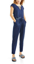 Derek Heart Junior's Caged Jersey Knit Jumpsuit NWT LARGE