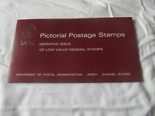PICTORIAL JERSEY  STAMPS LOW DEFINATIVES