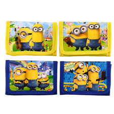 Minion Minions Wallet Boys Children Kids Cartoon Character Wallet Coin Purse