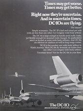 4/1976 PUB MCDONNELL DOUGLAS DC-10 AIRLINER AIRLINES ORIGINAL AD