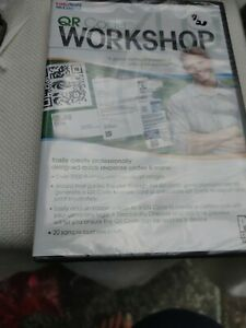 QR Code Workshop PC CD-ROM Software ~ New Factory-Sealed