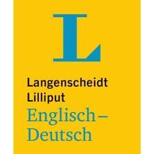 NEU: Langenscheidt Lilliput ENGLISCH-Deutsch - Das kleine Mini-Wörterbuch