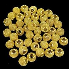 30pcs-7mmX7mm brass BIG flower spacer brass spacer beads
