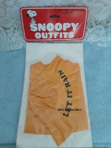 Vintage Snoopy Clothing Outfit Wardrobe New in Pack Rain Coat for 11""