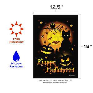 Toland Scary Halloween 12.5 x 18 Spooky Halloween Garden Flag