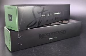 20 Capsules / Pods Original Nespresso Vertuo Stormio Two Sleeves - NEW STOCK