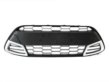 BUMPER GRILLE GRILL CENTER SPORT (satin/silver) FOR FORD FIESTA VII MK7 08-11