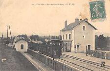 CPA 21 COTE D'OR GARE DE PONT DE PANY (TRAIN