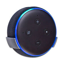 Wall Mount Stand for Amazon Echo Dot 3rd Gen / Alexa - Silver Grey