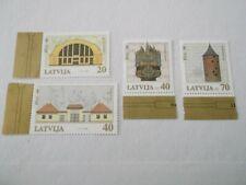 2000 Latvia 800th Anniversary of Riga 6th Series u/m Mi.498/501, D9
