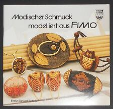 Modischer Schmuck modelliert aus FIMO, Evelyn Gessert-Tschakert, EFA HOBBY, NEU