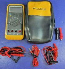 Fluke 87 Trms Multimeter Excellent Screen Protector Case See Details