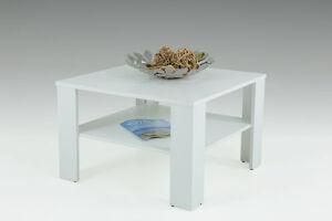 Couchtisch  LUCI II weiß Wohnzimmertisch feste Tischplatte