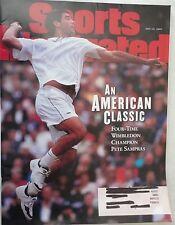JULY 14, 1997 SPORTS ILLUSTRATED - WIMBLEDON CHAMPION - PETE SAMPRAS